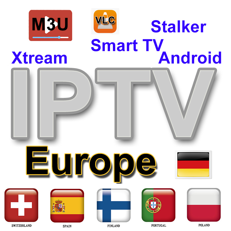 12months IPTV Subscription For UK Italy German Albania Poland Europe Erie A Match DAZN Live M3u Enigma2 Smart Iptv IBRAVEBOX