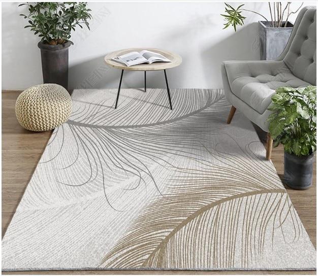 Europe du nord ins vent tapis simple moderne salon tapis thé table tapis Yijia tapis de sol.