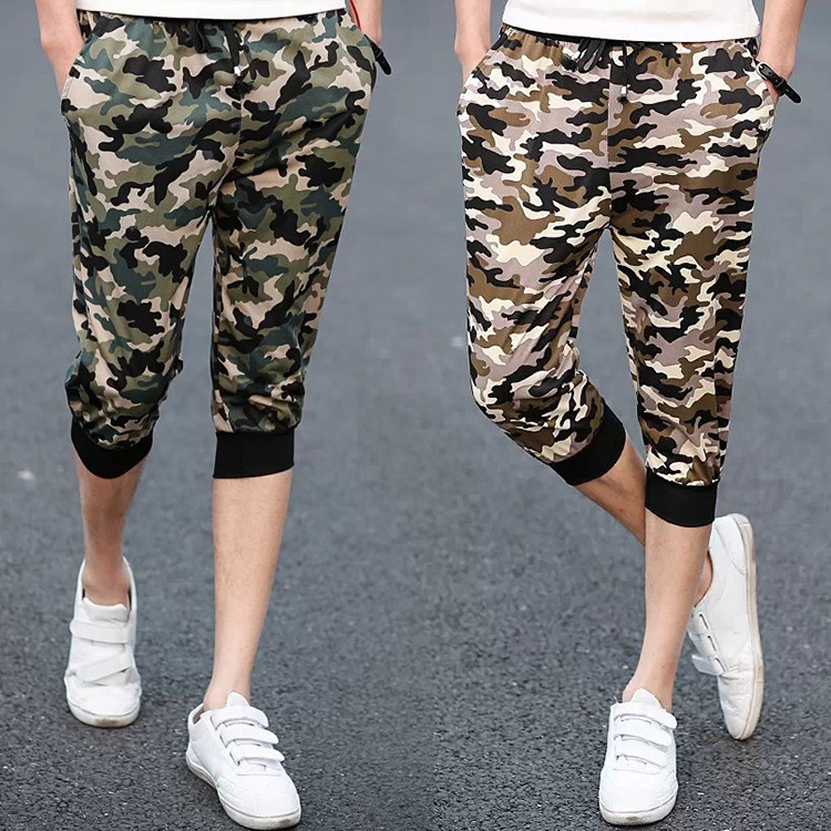 MEN'S Sports Pants Casual Pants Slim Fit Cropped Trousers For Men Casual Running MEN'S Sports Shorts Casual Running Pants
