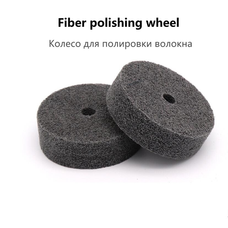 1 Piece 75*20*10mm Nylon Fiber Polishing Wheel Non-woven Polishing Wheel Metal Surface Finishing Woodworking Polish Tools