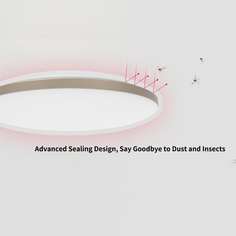 Nieuwe Yeelight 50W Smart Led Plafond Verlichting Kleurrijke Omgevingslicht Homekit Mijia App Controle 220V Voor Woonkamer YLXD50YL 3000lm - 4