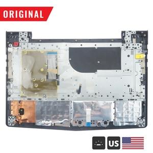 Image 2 - جديد الأصلي Palmrest لينوفو فيلق Y520 R720 Y520 15 Y520 15IKB الغطاء العلوي العلوي مع الولايات المتحدة الخلفية لوحة المفاتيح