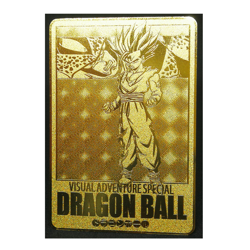 Super Saiyan Dragon Ball Z Stormy Situation Metal Card Heroes Battle Card Ultra Instinct Goku Vegeta Game Collection Cards