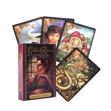 Yeni Oracle Tarot kartları Glided Reverie Lenormand genişletilmiş baskı kurulu güverte oyunları oyun kartları parti oyunu için