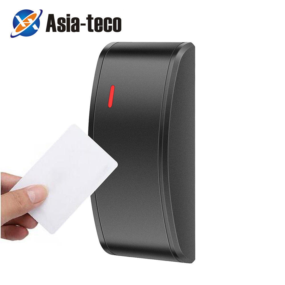 IP68 Waterproof Mini 125KHz/13.56MHz Access Control Card Reader RFID Card Reader For The Access Control WG26/34 Output