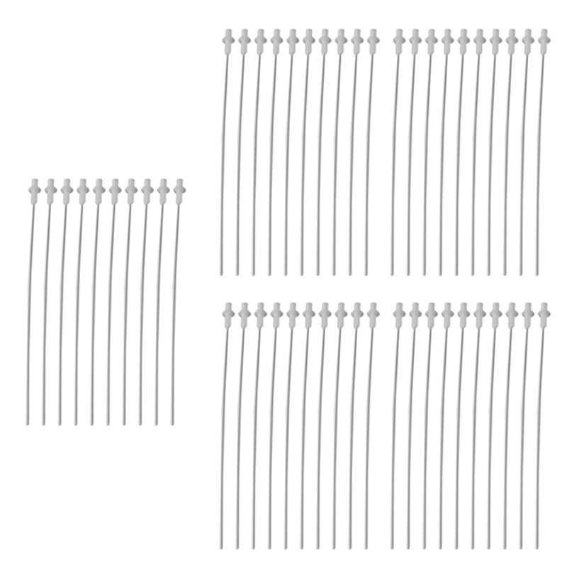 50PCS Artificial Insemination Rods Breeding Catheter Tube Dog Sheep Goat 10 Inch