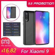 For Xiaomi Mi 9 Mi 9 SE Battery Charger Case 5000mAh Extenal Portable Slim Power bank Charging Cover For Xiaomi Mi9 Battery Case