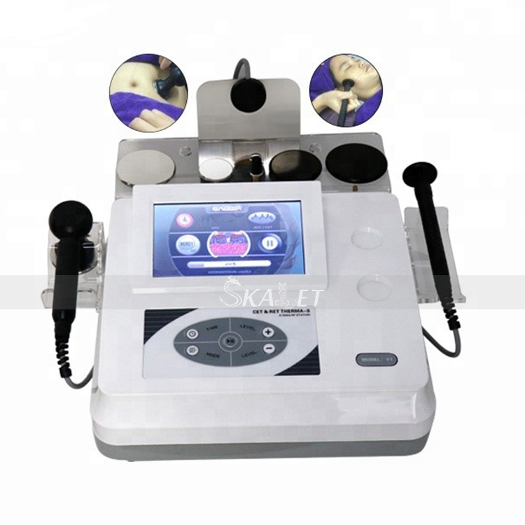 Hottest Physic Therapy Tecar RET CET RF Short Wave Diathermy Ablation Beauty Machine