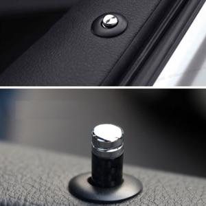 Image 5 - الكربون الألياف الباب قفل دبوس عصا كاب بولت غطاء ل BMW E46 E39 E60 E90 E36 F30 F10 E53 E34 E30 E70 X1 X3 X4 X5 X6 M3 M5