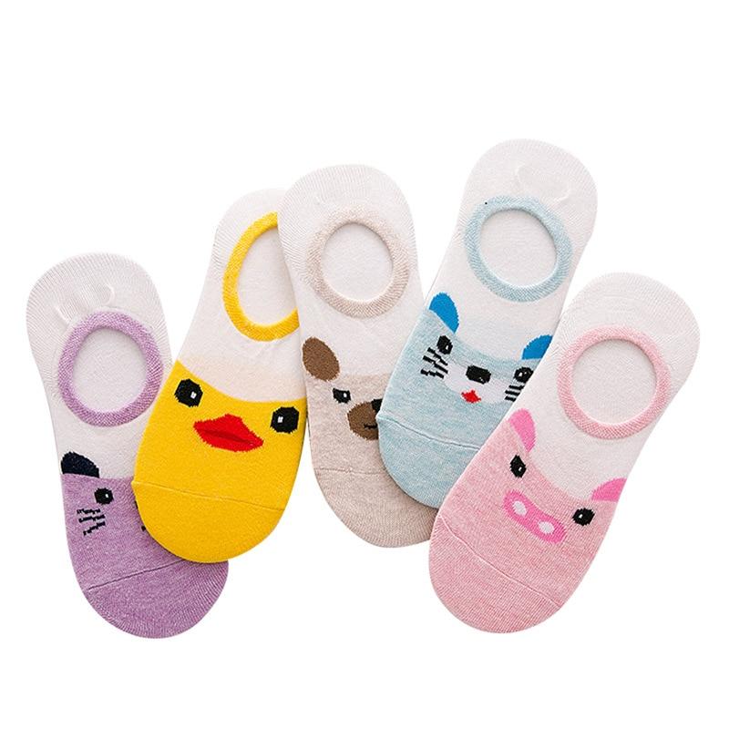 Spring And Summer New Cotton Socks Japanese Cartoon Animal Stealth Boat Socks High Quality Fashion Men And Women Socks Hot Sale