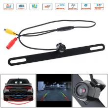CMOS Waterproof Car Rear View Reverse Backup Butterfly Camera Night Vision Parking Reversing Assistance New free shipping free shipping brand new 4 pin 800tvl cmos ir night vision waterproof car rear view reverse backup camera for