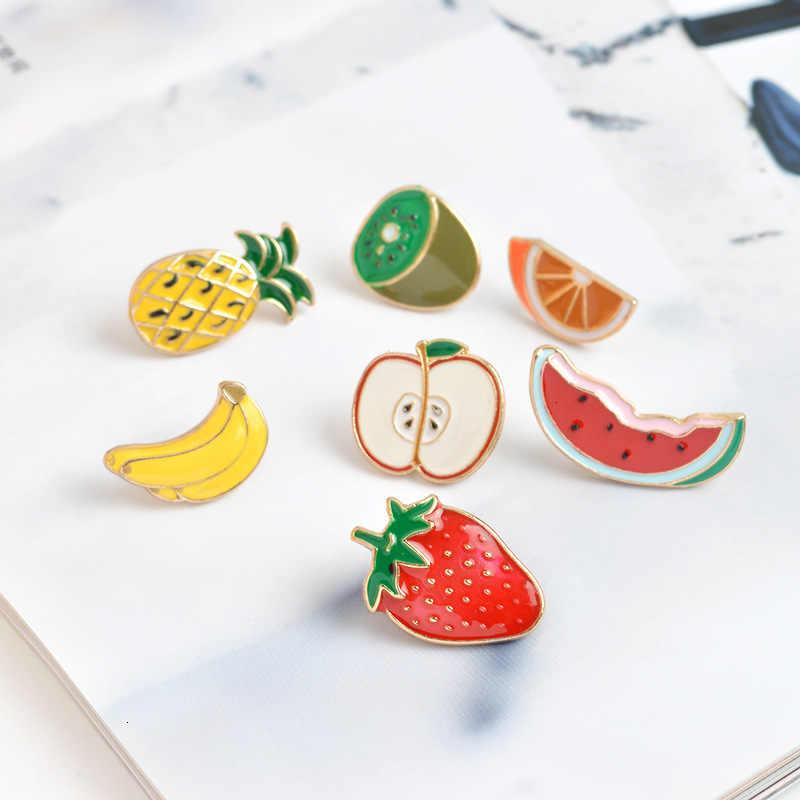 קריקטורה פירות בננה יפה תות אבטיח קיווי apple מנדרינית כתום אורן apple סיכה סיטונאי