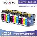 IBOQVZG LC223 LC221 LC 223 картриджи для принтеров Brother картридж DCP-J562DW J4120DW MFC-J480DW J680DW J880DW J5320DW