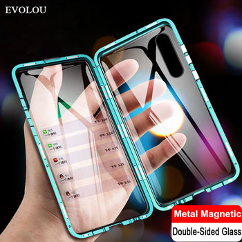 Magnetic Adsorption Case for OPPO Realme X2 Pro XT ACE K5 730G Double Sided Tempered Glass Full Protect Case Realme XT 3 Pro