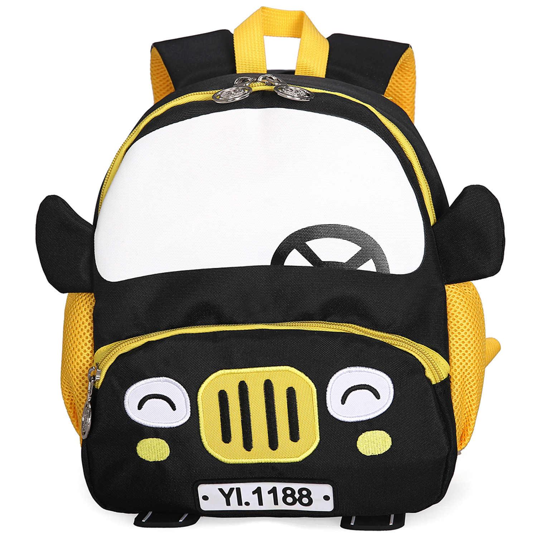 Anak Sekolahnya 3D Mobil Ransel 2-5 Tahun Anak Fashion Cute Anak-anak TK Tas Sekolah Anak Mochila Escolar