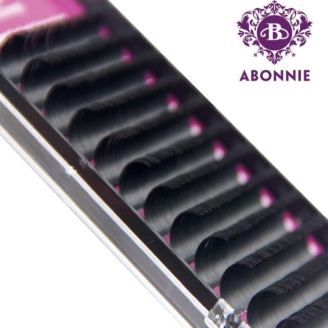1 Case All Size JBCD Eyelash Extensions Mink Black Fake Natural False Eyelashes Curl
