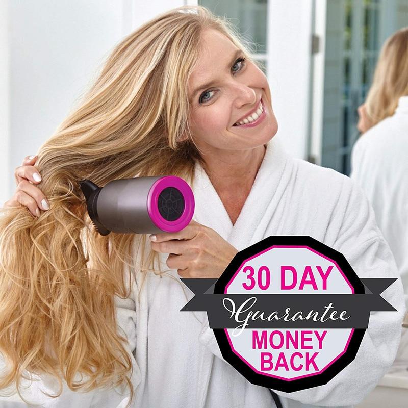 1100W Diffuser Hair Dryer Hair Blow Dryer Straighting Hair Hot Air Dryer Heat Setting 2 Speed & One Setting  Hairdryer