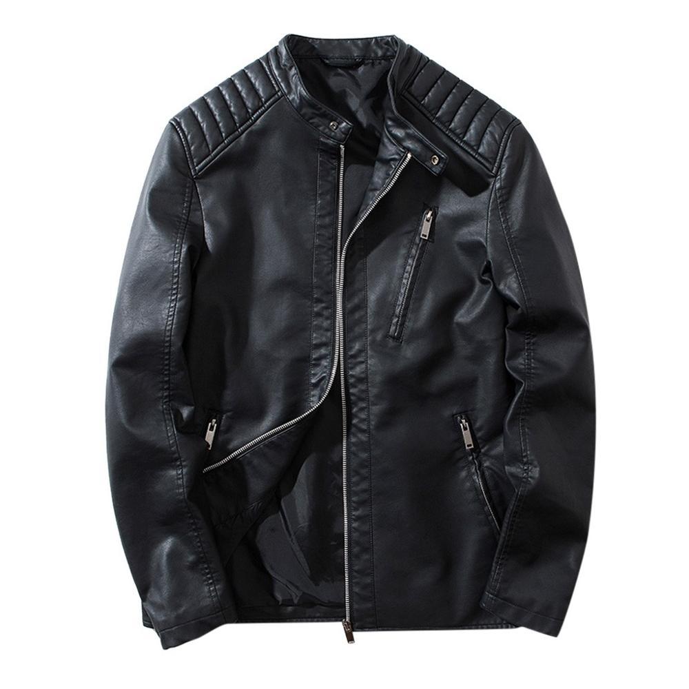 Coat Fur-Jacket Motorcycle Winter Autumn Fashion Zipper A13 Outwear Windbreaker Warm