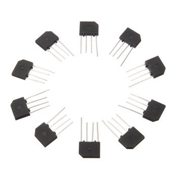 10 szt 3A 1000V KBP307 diodowy mostek prostowniczy KBP 307 diody elektronowe tanie i dobre opinie CN (pochodzenie) standard Other Bezpo¶rednio hole 3A 1000V diode bridge rectifier kbp307 electronica component diodo retificador