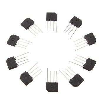 Diodo de potencia electrónico, 10 Uds., 3A, 1000V, KBP307, Puente rectificador de diodo, KBP 307