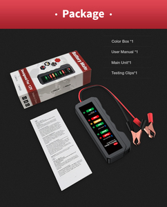 Image 5 - 2020 EDIAG BM310 BM410 Batteria Auto Tester & brake fluid tester 12V 24V Digitale di Prova 6 /7LED luci Display OBDII auto di Alta Qualità
