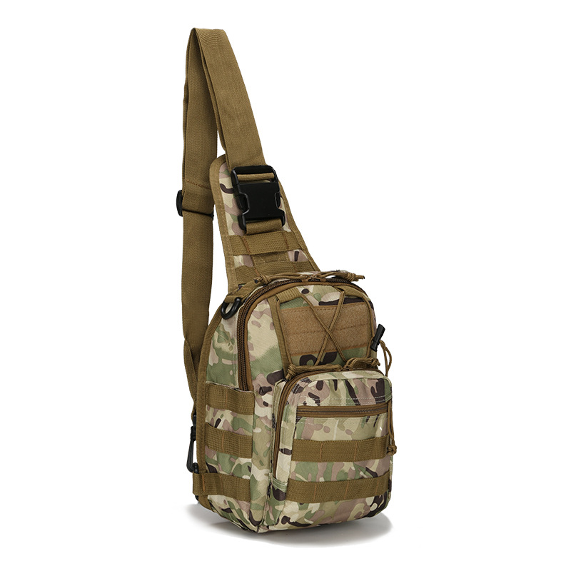 A Generation Of Fat Rides Luggage Camouflage Open Country Sports Small Chest Bag Shoulder Cross-body Outdoor Tactical Bag Chest