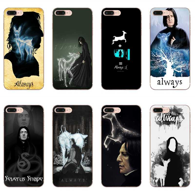 Accessories phone case For iPhone 11 Pro XS Max XR X 8 7 6 6S Plus 5 5S SE 4s 4 iPod Touch 5 6 Severus snape deer always