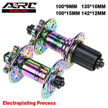 Ступица для велосипеда ARC Rainbow Hub, разноцветная ступица для велосипеда, Тайваньская Ступица с 32 отверстиями, QR-Thru, ступица для горного велосип...