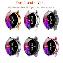 Cover Smart-Watches-Accessories Garmin Case-Strap Venu-Replacement Protection Soft