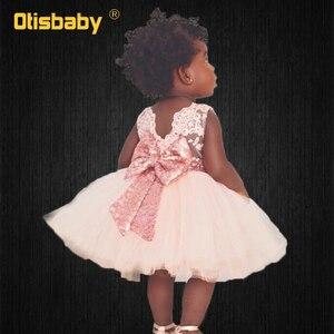 Baby Girl Backless koronkowe sukienki do chrztu letnie sukienki wizytowe dla niemowląt 1 2 3 4 5 6 lat noworodka sukienka chrzest