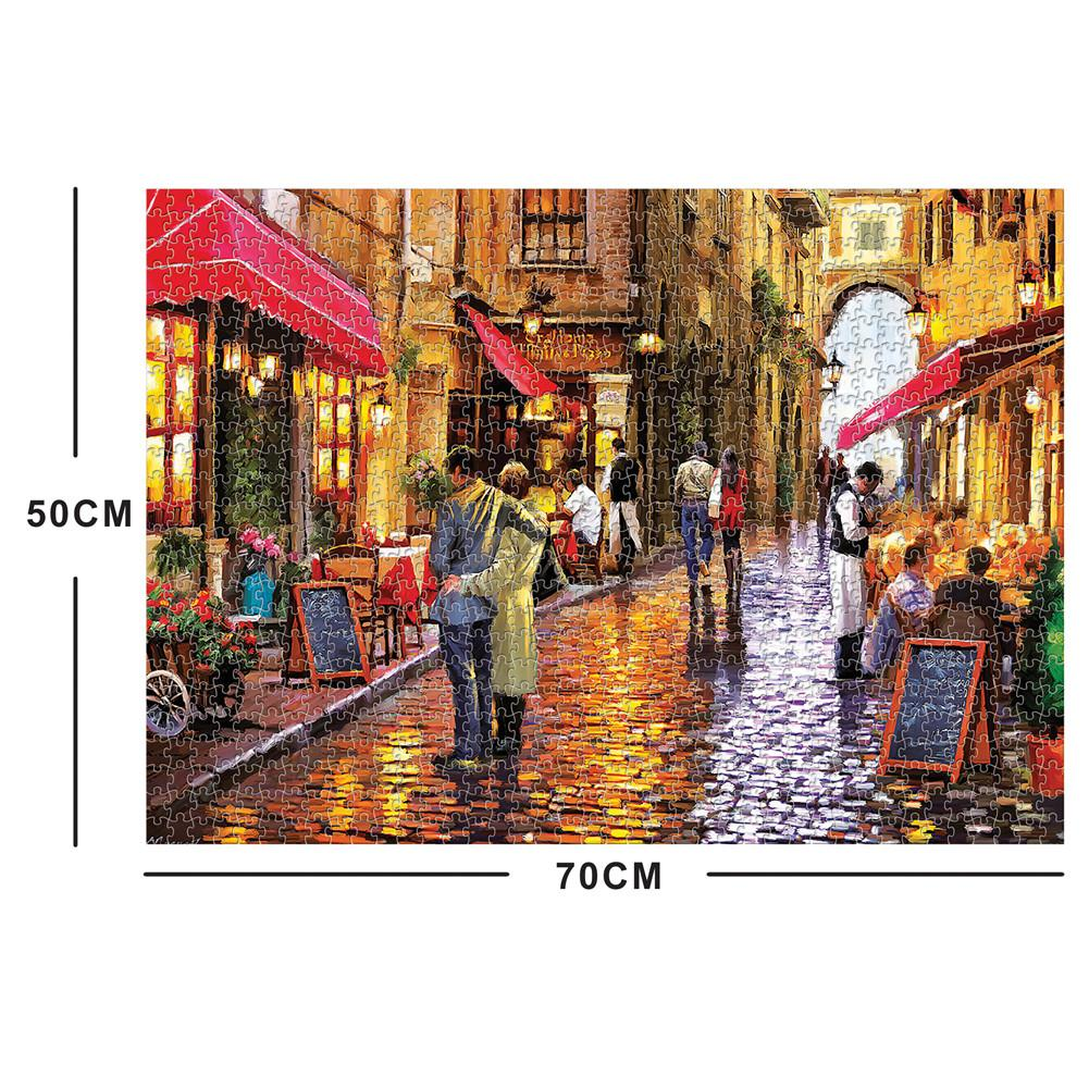 1000piece Paris Street Jigsaw Puzzles For Kid//Adult Toy Learning Education Gifts