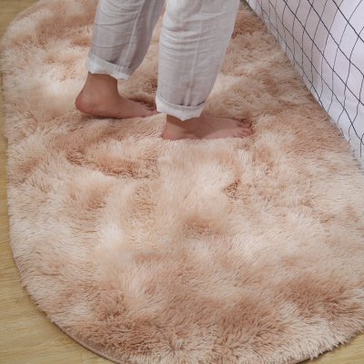 Super Soft Sheepskin Rug Indoor Modern Shag Area Rug Silky Rugs Bedroom Floor Mat Baby Nursery Rug Children Carpet