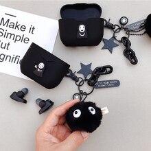 Śliczna japońska kreskówka etui na słuchawki dla Sony WF 1000XM3 Case słuchawki bezprzewodowe pokrywa zestaw słuchawkowy Bluetooth ładowanie słuchawek Box
