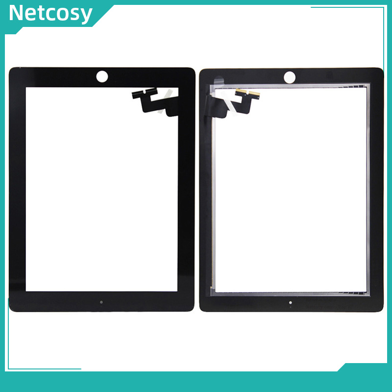 """För ipad 2 pekskärm Digitizer glaslinspanel för iPad 2 A1395 A1396 A1397 9,7 """"Tablet-pekskärmsreparation för ipad 2"""