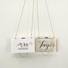 Personalized Bride purse Clutch team bride Wedding Bridal Ac
