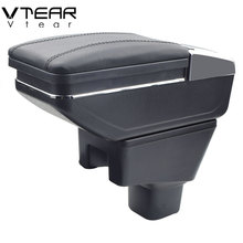 Vtear For SUZUKI SX4 armrest box central Store content box cup holder ashtray decoration interior car-styling accessories parts