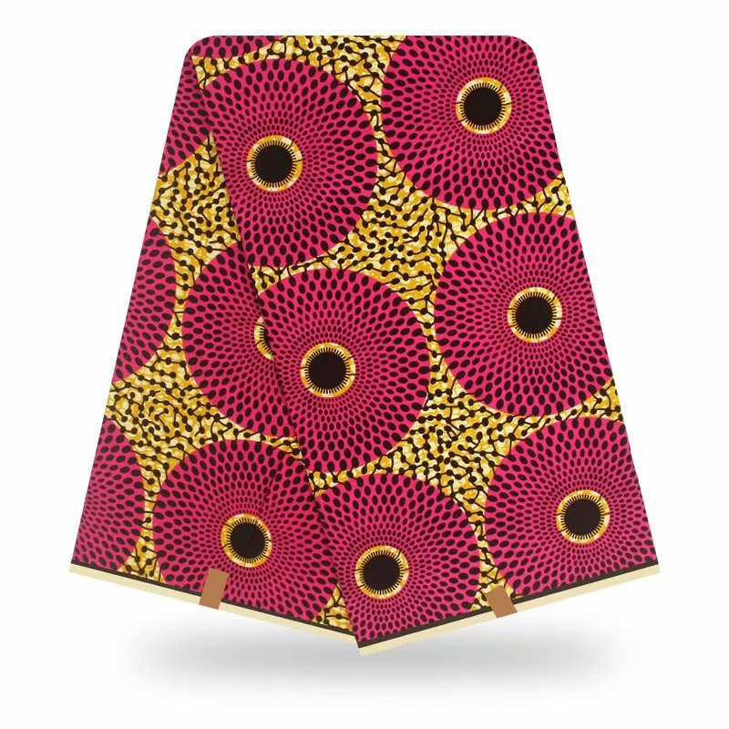 African Fabric Wax Print High Quality Cotton Wax Print Fabric High Quality Wax African Real Ankara Wax For Dress
