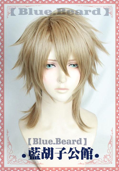 A3! First SUMMER EP Miyoshi Kazunari Cosplay Wigs High-temperature Fiber Synthetic Hair Flaxen Short Hair + Free Hair Net