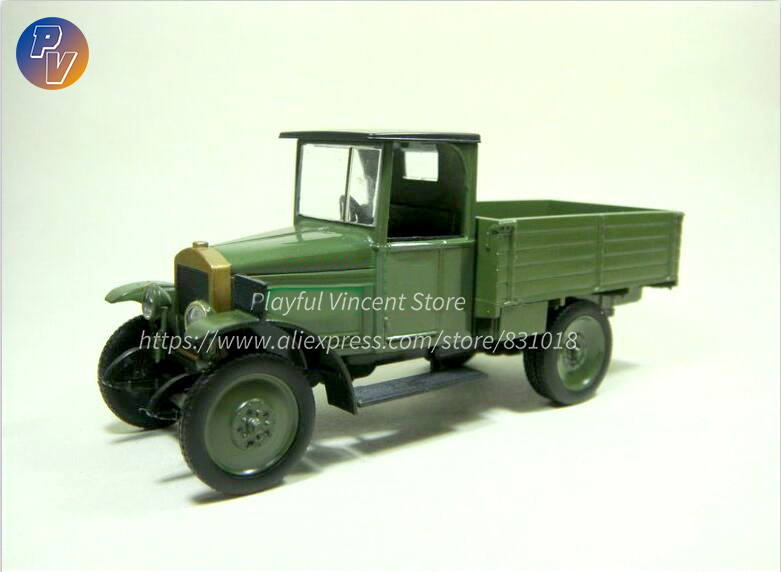Special Offer rare 1:43 Russia Soviet Union Small truck model Alloy Collection Model image