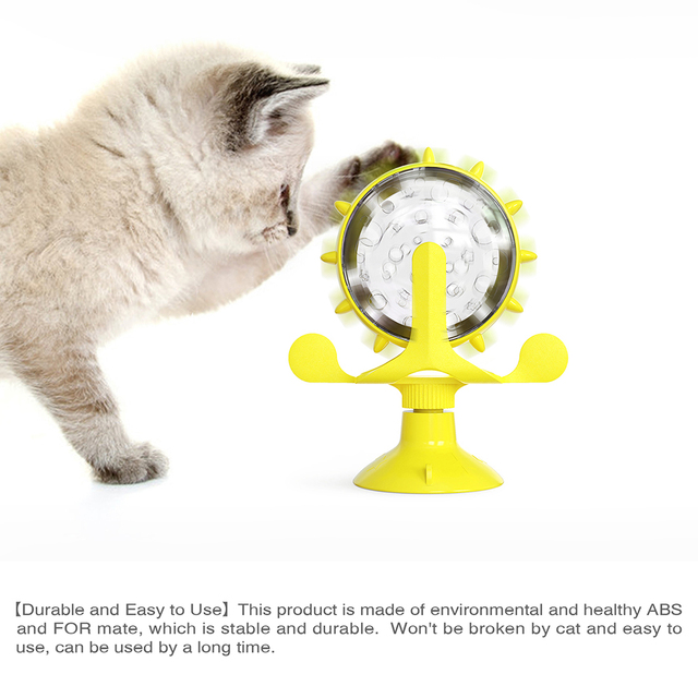 Treat Wheel For Cats & Dogs Pet Feeder 5