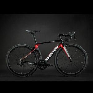Image 1 - OG EVKIN ホット 22 スピードカーボン完全なロードバイク 700C ud マット光沢のある道路カーボン自転車 45 ミリメートルホイールバイク v ブレーキフォーク 2019