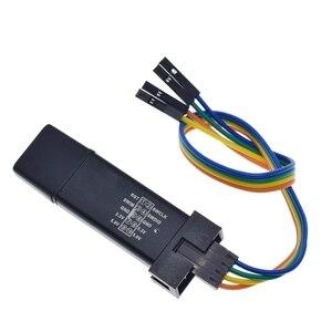 1 комплект ST LINK Stlink ST-Link V2 Mini STM8 STM32 симулятор загрузки Программирование с чехлом DuPont Cable ST Link V2