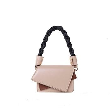 iVog New Arrival Everyday Ladies Fashion Small Messenger Crossbody Handbag Leather Geometric Hand Bags for Women 2020
