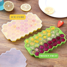 Лоток для кубиков льда силиконовая форма кухонная приготовления