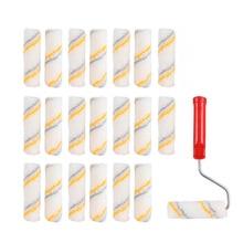 Decorators-Brush Brush-Coating Wall-Painting-Tools 21pcs Little-Finger Hot-Melt 1set