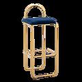 נורדי בר כיסא מודרני קומפקטי אור יוקרה גבוהה רגליים שרפרף משענת כיסא מתכת ברזל אמנים Creative אישיות בר כיסא