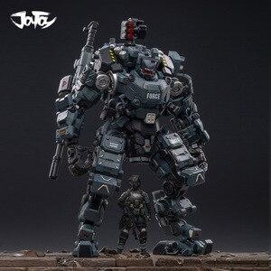 Image 4 - JOYTOY 1:25 figur roboter FSTEEL KNOCHEN MECH Militär modell puppe Mecha Weihnachten präsentieren geschenk Freies verschiffen