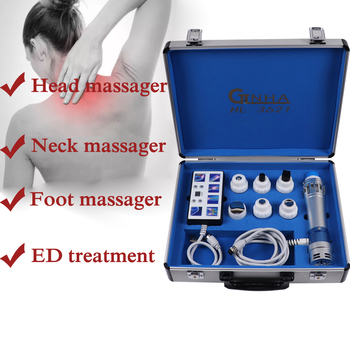ED Electromagnetic Extracorporeal Shock Wave Therapy Machine Pain Relief Body Relax Vibrator Massager for erectile dysfunction