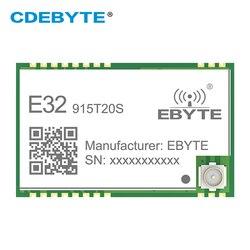 Módulo sem fio do rf smd 915 mhz sx1276 sx1278 E32-915T20S lora transceptor de longa distância 915 mhz iot relação ipex