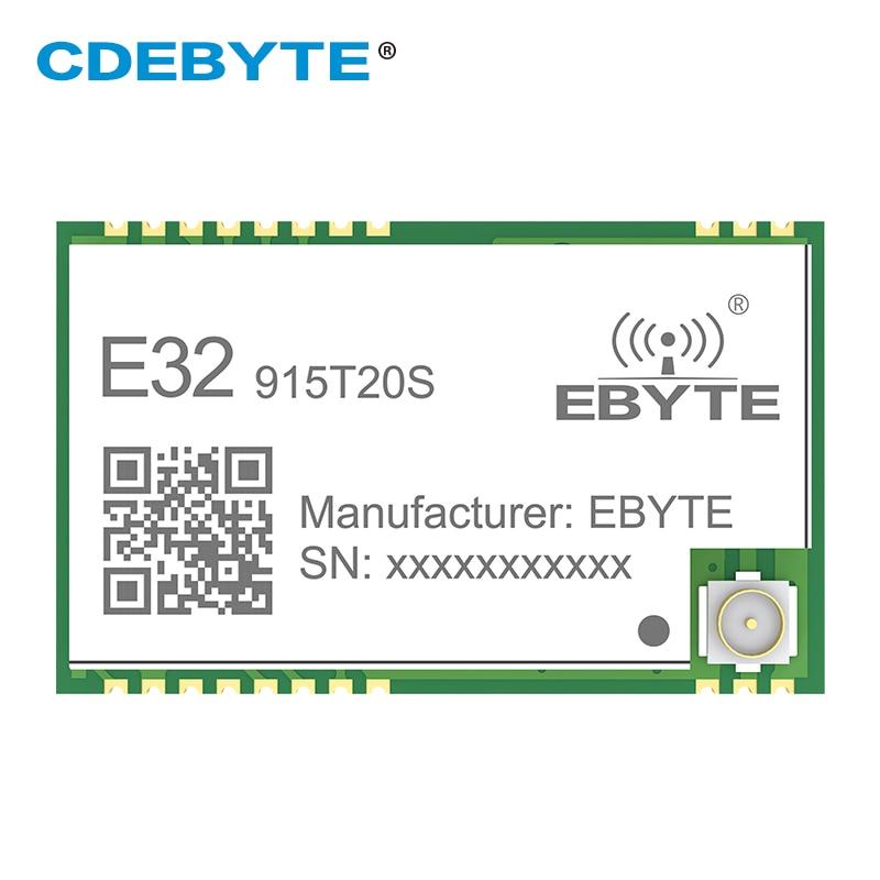 Wireless RF Module SMD 915MHZ SX1276 SX1278 E32-915T20S LoRa Long Range Transceiver 915 MHz IoT Long Distance IPEX Interface